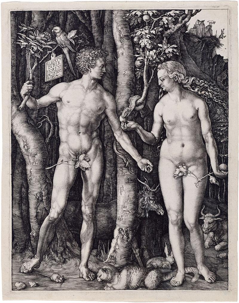 Albrecht_Dürer,_Adam_and_Eve,_1504,_Engraving