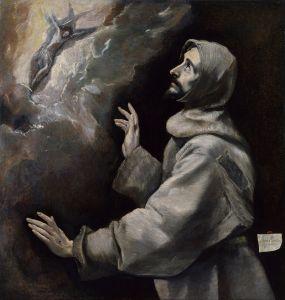 El_Greco_-_Saint_Francis_Receiving_the_Stigmata_-_Google_Art_Project